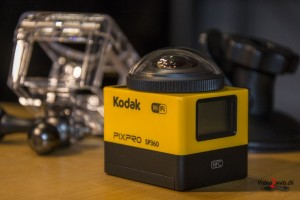 Kodak PixPro SP360 til 360 graders video