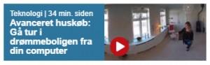 Ekstra Bladet skriver om virtual reality til boligfremvisning